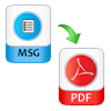 migrate msg files to pdf