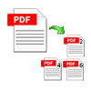 split PDF file by even