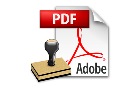 PDF Page Numbering Tool Insert Stamp